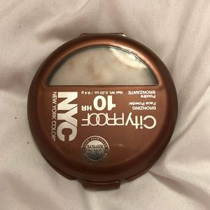 NYC light bronzer perfect for the summer